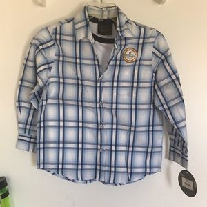 NWT Boys Shirt Urban Pipeline 2 Piece SZ Small